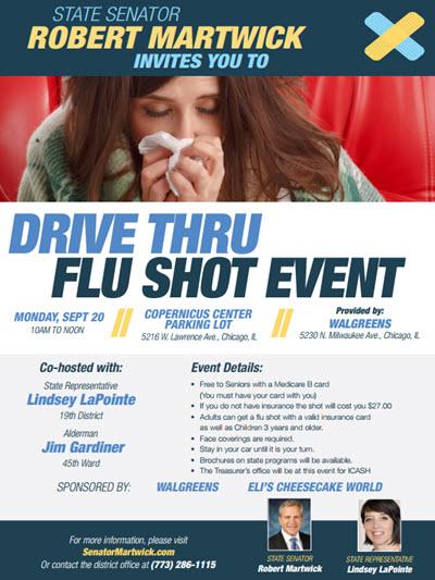 Flu Shot Drive Thru