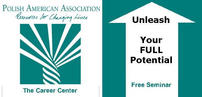 Career Coaching, PAA, free seminar, self-help, uwojnij swoj potencjal, osiagnij zamierzone cele, Wydarzenia, Chicago, Polskie, Copernicus Center