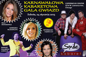 Karnawalowa Gala kabaretowa