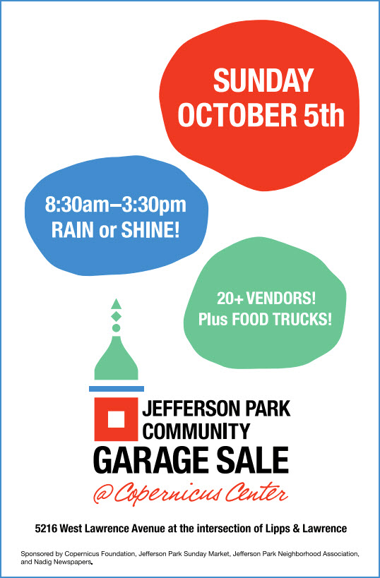 Jefferson Park | Garage Sale | Chicago | Copernicus Center