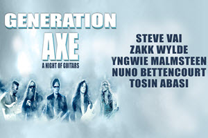Generation Axe Tour Chicago