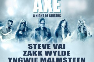 Generation Axe, Generation Axe Tour, Steve Vai, Zakk Wylde, Yngwie Malmsteen, Nuno Bettencourt, Tosin Abasi, a night of Guitars, Chicago, 4/29/2016, live concert, rock concert, classic rock concert, Copernicus Center
