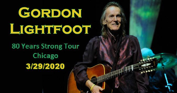 Gordon Lightfoot 2020