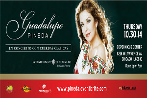 Guadalupe Pineda in Concert with Cuerdas Clasicas