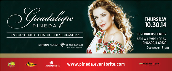 guadalupe pineda |bolero | Latin Romantic Concert | Copernicus Center | Chicago