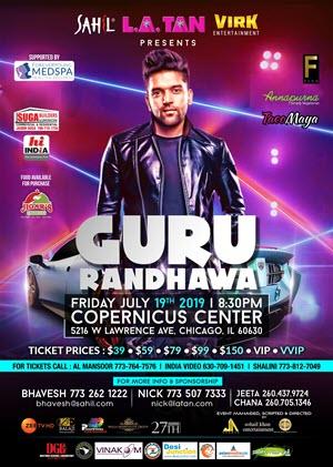 Guru Randhawa Live in Chicago