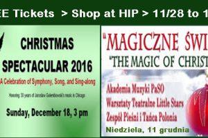 Hip, special offer, free tickets, copernicus center, Harlem Irving Plaza