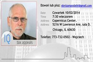 podatki od nieruchomosci | obnizanie | podatki za dom |jak obnizyc podatki za dom | Chicago | Copernicus Center