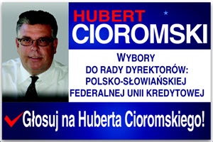 PSFCU, Polish & Slavic Credit Union, Board Elections, Chicago, New York, Copernicus Foundation, Hubert Cioromski, Credit Union, Copernicus Center