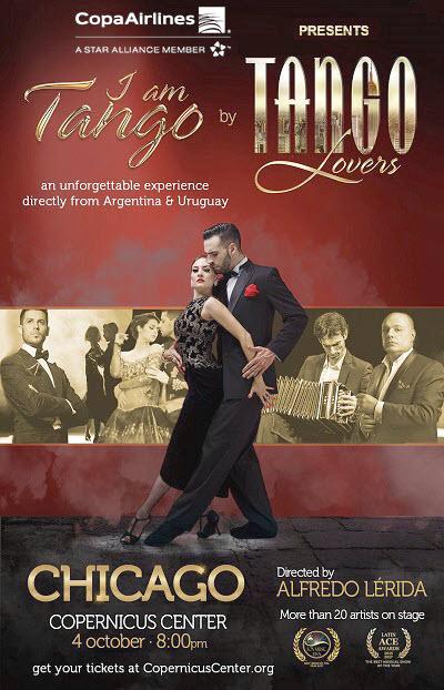 I Am Tango, Tango performance, Tango dance show, dance show, Tango music show, Tango in Chicago, Best Musical Show of the Year, dance shows in Chicago, Tango Lovers troupe, Copernicus Center, I Am Tango tickets, 2019-10-04
