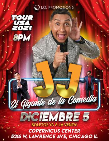 """JJ Comediante """"El Gigante de la Comedia"""""""