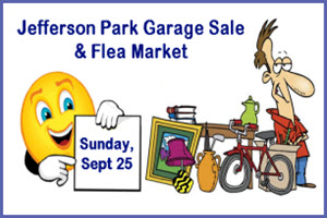 Jefferson Park, Garage Sale, Flea Market, Chicago, Stephen Gulyas, JPNA, Jefferson Park Chamber of Commerce, Jefferson Park Neighborhood Association, Copernicus Center, Copernicus Foundation