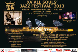 XV All Souls' Jazz Festival 2013