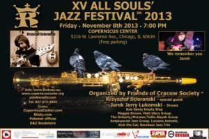 XV All Souls' Jazz Festival 2013