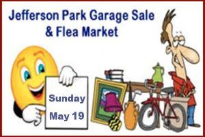 Jefferson Park Community Flea Market ~ Garage Sale