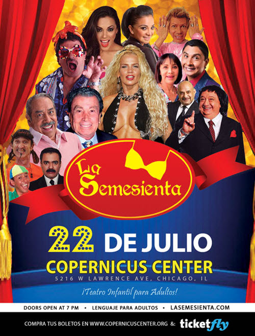 la semesienta, niurka marcos, luis de alba, alfonso zayas, la wanders lover, ale la jarocha, pablo cheng, la pelangocha, parodia, comedia, cuento infantil para adultos, Chicago, Copernicus Center, Eventos en Chicago, Eventos Latino, conciertos latinos, boletos