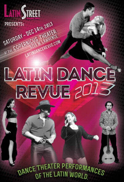 Latin Dance Review 12-14-13 Copernicus Theater Copernicus Center Chicago