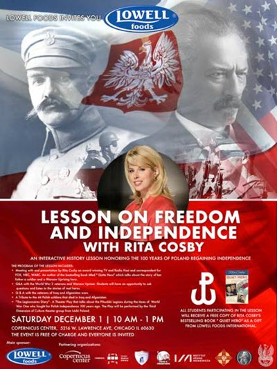 Lesson on Freedom and Independence, history of war, WWI history, WWII history, Copernicus Center Chicago, Free events in Chicago