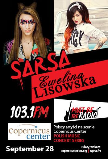 Must Be the Radio: Ewelina Lisowska & Sarsa