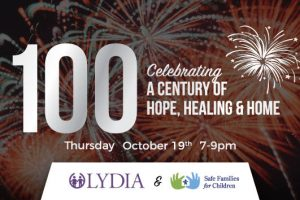 Lydia 100 years, century of hope healing and home, comedian Michael Jr, Safe Families for Children, Lydia Gala, Lydia Home Gala, foster care, orphanage, comedy, fundraiser, live gospel choir, Chicago, old irving park, kids in crisis, children's charity, Chicago fundraiser, Copernicus Center, Centennial Celebration