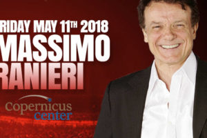 Massimo Ranieri concert, Massimo Ranieri in Chicago, May 11 2018 concert, Copernicus Center Chicago, Massimo Ranieri events
