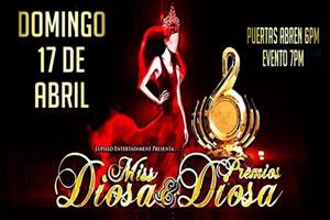 Miss Diosa USA y Premios Diosa