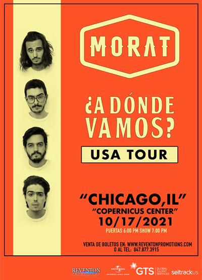 Morat Concierto - Chicago