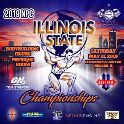 NPC Illinois State Championship 2019, NPC IL State 2019, bodybuilding Chicago, muscle contest, classic physique, Chuck Sanow, USA Gym, IFBB Pro, Copernicus Center Chicago, Chicago bodybuilding, 5/11/2019