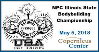 NPC Illinois State 2018, Illinois State bodybuilding, Illinois State Fitness, body building championship Illinois, NPC, physique, NPC IL State, Illinois bodybuilding, NPC Illinois State, Men's & Women's Physique, Men's Classic Physique, Chicago, Copernicus Foundation, Copernicus Center, Chuck Sanow, Kasia Topor, NPC Illinois Bodybuilding, Bodybuilding National Qualifier, IFBB Pro, 5/5/2018