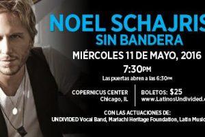 Noel Schajris, Sin Bandera, Baladas, Kilometros, Latin Pop, Argentino de Sin Bandera, Artista Pop, Concierto, Entre en mi vida, BENEFIT CONCERT, chicago concerts, CUATRO, eventos chicago, fundraisers, HACER, HACER SCHOLARSHIP, HISPANIC STUDENTS, latino concert, Latinos UNDIVIDED for Education, MARIACHI HERITAGE FOUNDATION, McDonald's, McDonald's Hispanic Owner-Operators Association, MCDONALD'S SCHOLARSHIP, MHOA, PUERTO RICAN ARTS ALLIANCE, Undivided, May 11, 2016