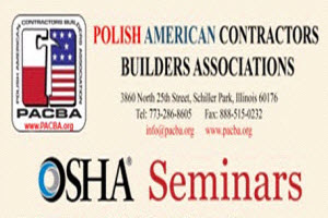OOSHA Seminar 3-20-14, SHA Polish Builders Seminar Copernicus Center Chicago