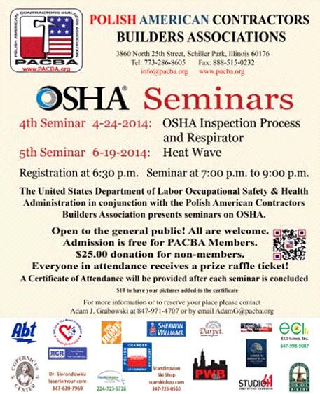 OSHA Seminar Chicago