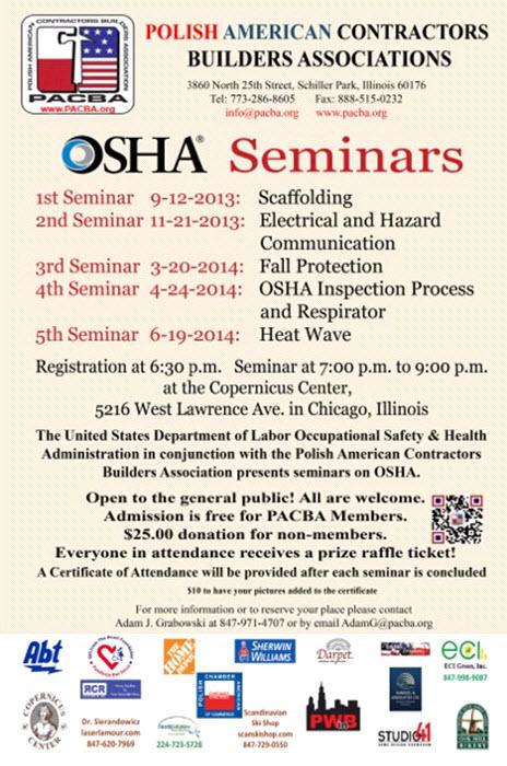 OSHA Seminars