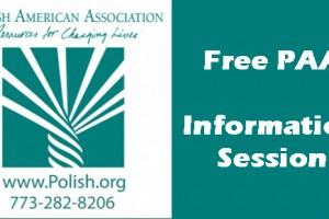Completing a College Degree, PAA, Free Seminar, Copernicus Center, Chicago, Polish American Center,