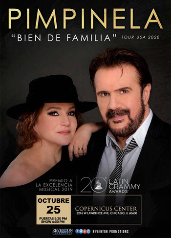 Pimpinela en Chicago