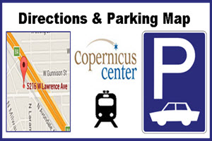 Copernicus Center, Copernicus Center parking, Chicago, Copernicus Center Directions, Parking, directions