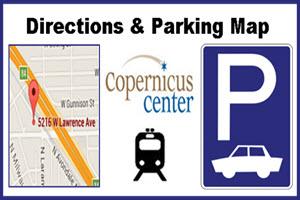 Copernicus Center, Copernicus Center parking, Chicago, Copernicus Center Directions, Parking, directions