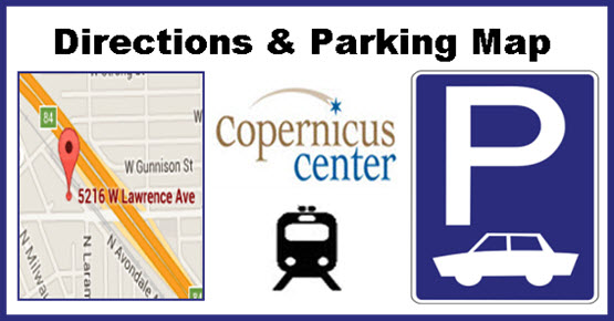 Directions & Parking - Copernicus Center - Chicago