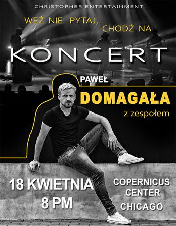 Paweł Domagała koncert