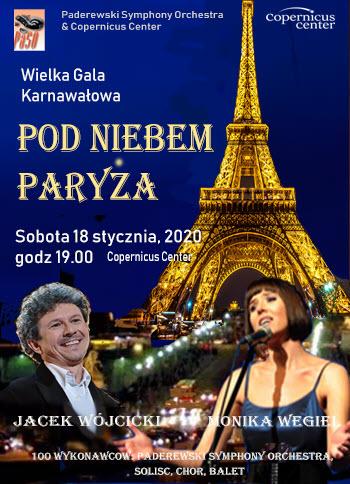 Gala Karnawalowa, Pod Niebem Paryza