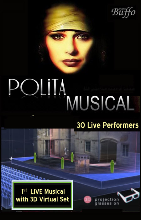 theatre, teatr, polskie imprezy, Bilety, Wydarzenia, koncerty, imprezy w Chicago, Chicago, Copernicus Center, Bilety Chicago, Natasza Urbanska, Janusz Jozefowicz, Janusz Stoklosa, Studio Buffo, Polita Musical, PaSO, Musical Polita, taniec, Teatr muzyczn, Polita, 3D musical, live musical, virtual reality, live theater, silent movies, family theater