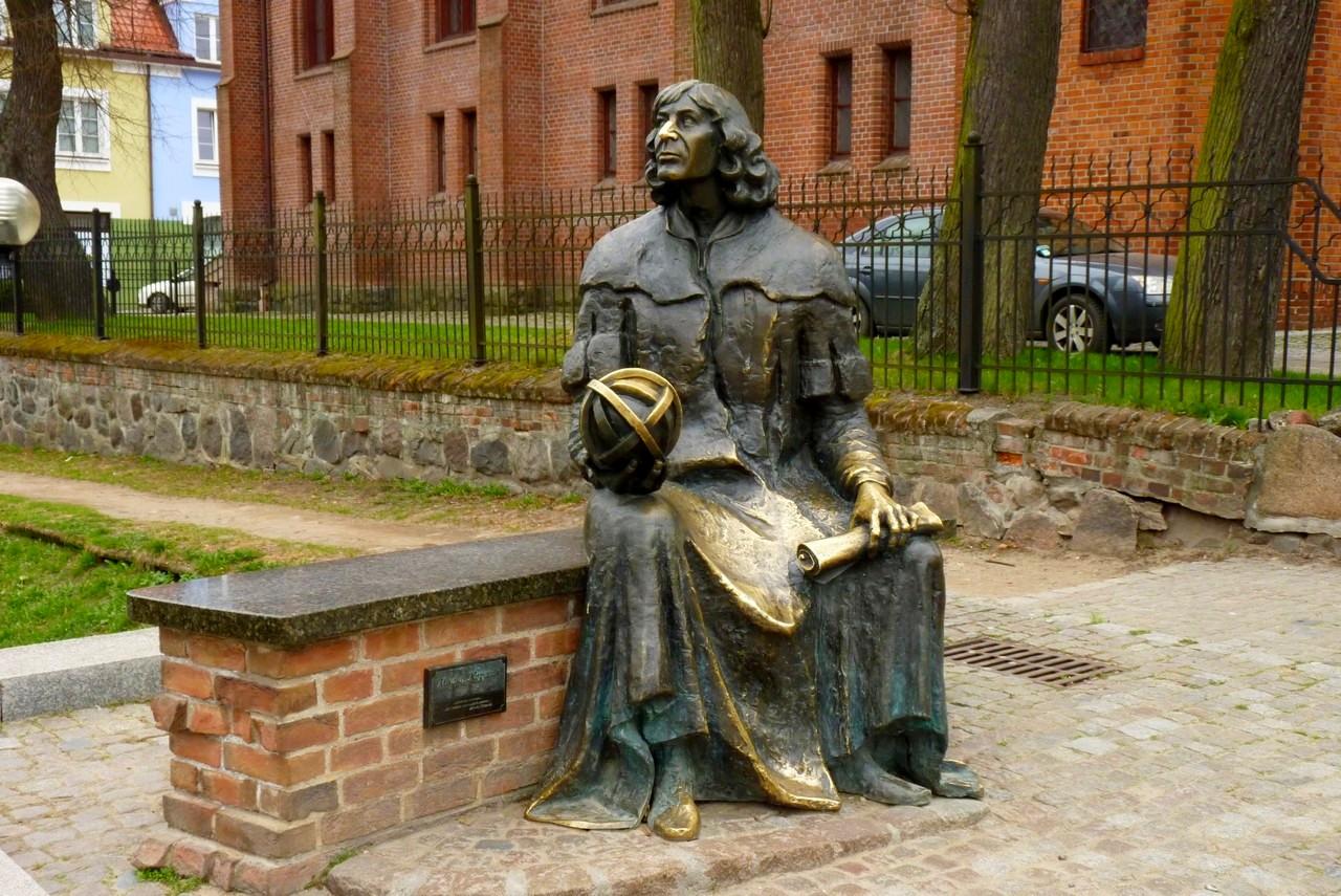 Pomnik Mikołaja Kopernika – Photo: Dariusz Domagała