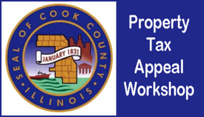 how to appeal your property tax, Property Tax Appeal, Workshop, Chicago, Tax