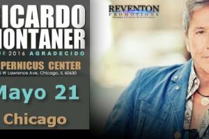 Ricardo Montaner, Tour Agradecido, 21 de Abril 2016, 04/21/2016. Chicago, Concierto en Vivo, concertos - eventos en Chicago, Copernicus Center
