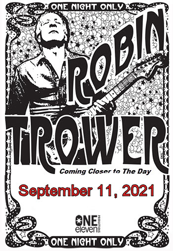 Robin Trower Tour 2021 - Chicago