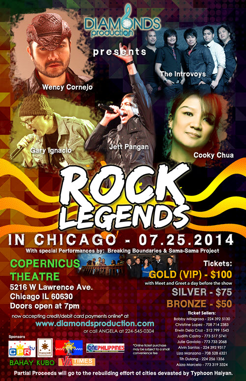 Rock Legends Chicago
