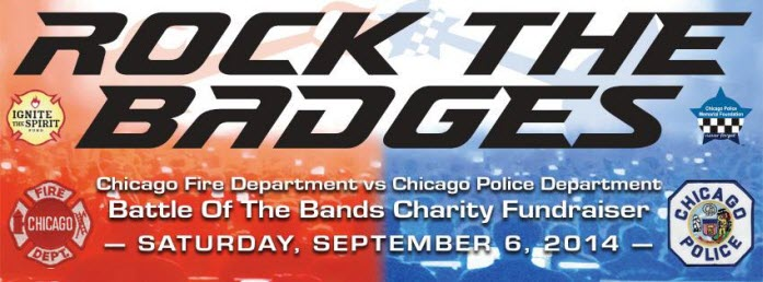 Rock the Badges September 6 Copernicus Center Chicago