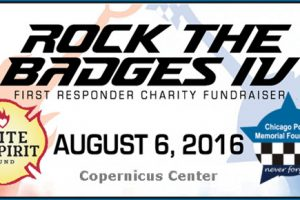 Chicago Police, Chicago Firefighters, Memorial, Garrido, Jenny Rockis, Fort Knox Studio, Copernicus Center, rock concerts, fundraiser, family events, live music, chicago, cpd, cfd, ignite the spirit, Rock the Badges, Rock the Badges IV