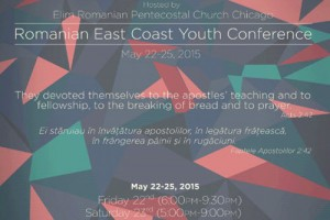 Romanian East Coast Youth Conference, Romanian youth, 2015 conference, Pillars of Faith, Elim Romanian Pentecostal Church, Chicago, Copernicus Center