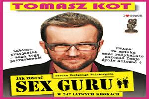 Sex Guru- spektakl teatralny